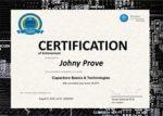 general certificate